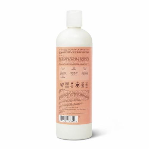 SheaMoisture Coconut & Hibiscus Curl & Shine Conditioner Perspective: back