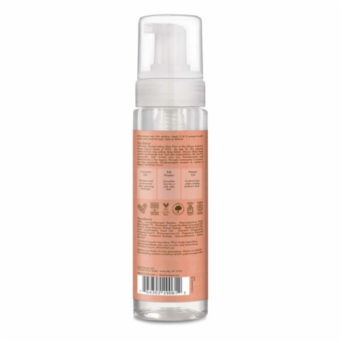 Shea Moisture® Coconut & Hibiscus with Shea Butter Frizz Control Curl Mousse for Curly Hair Perspective: back