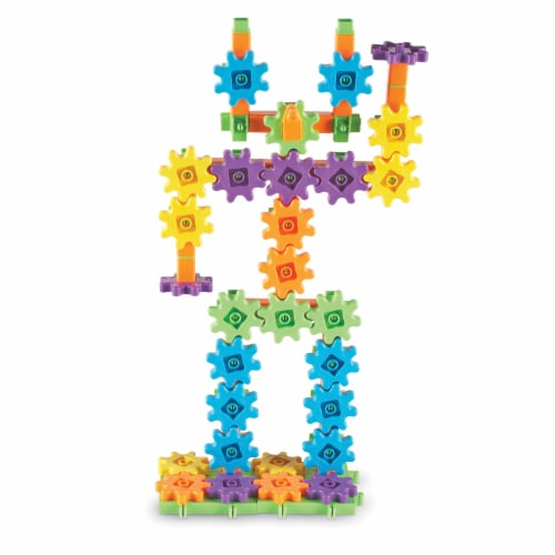 Learning Resources® Gears! Gears! Gears! Super Building Set Perspective: back