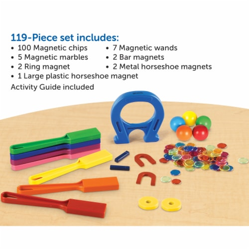 Learning Resources® Super Magnet Lab Kit Perspective: back