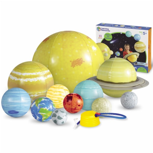 Learning Resources® Giant Inflatable Solar System Set Perspective: back