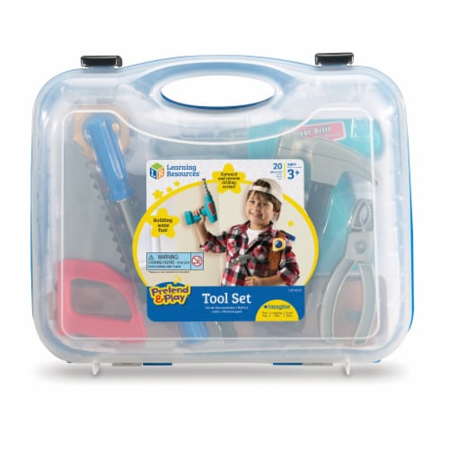 Learning Resources® Pretend & Play Tool Set Perspective: back