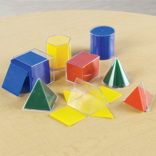 Learning Resources® Folding Geometric Shapes™ Perspective: back