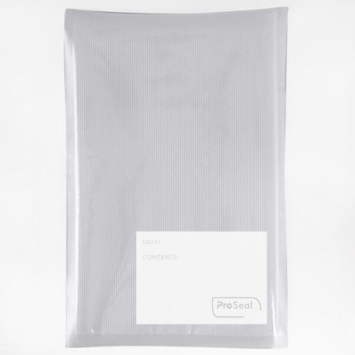 "ProSeal™ Vacuum Sealer Bags, Quart Size (8"" x 12""), 35 Count Perspective: back"