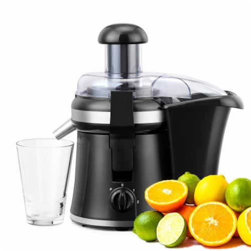 """Continental 2"""" Chute Juice Extractor 2-Speed with Pulse Perspective: back"""