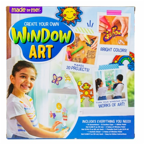 Horizon Group USA Made by Me! Window Art Kit Perspective: back