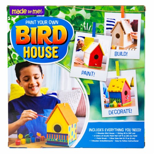 Horizon Group USA Made by Me Bird House Kit Perspective: back