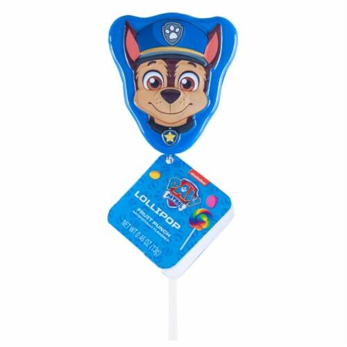Paw Patrol Lollipop Party Favors with Collectible Keepsake Tin Perspective: back