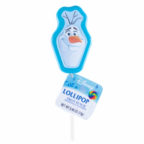 Frozen 2 Lollipop Party Favors with Collectible Keepsake Tin Perspective: back