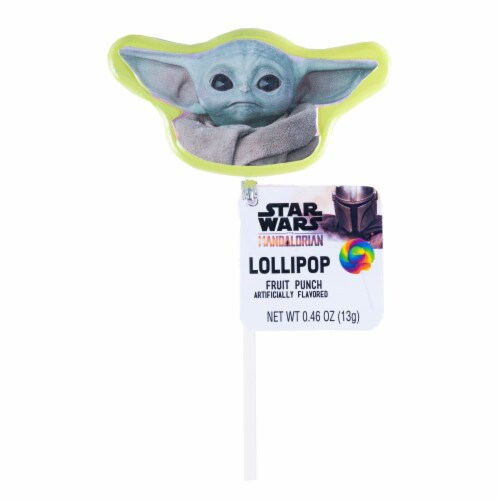 Star Wars Mandalorian Lollipop Birthday Party Favors with Collectible Keepsake Tin Perspective: back