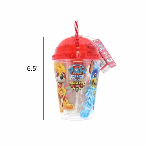 Paw Patrol Tumbler with Mini Lollipops Perspective: back