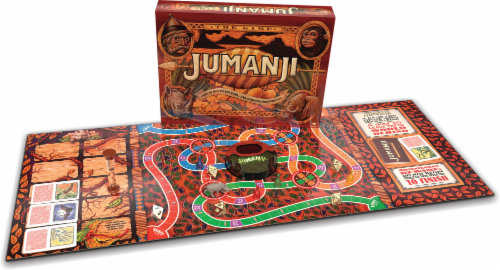 Cardinal Games Jumanji The Board Game Perspective: back