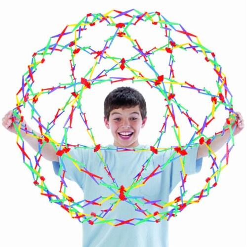 Hoberman Original Rainbow Sphere Perspective: back