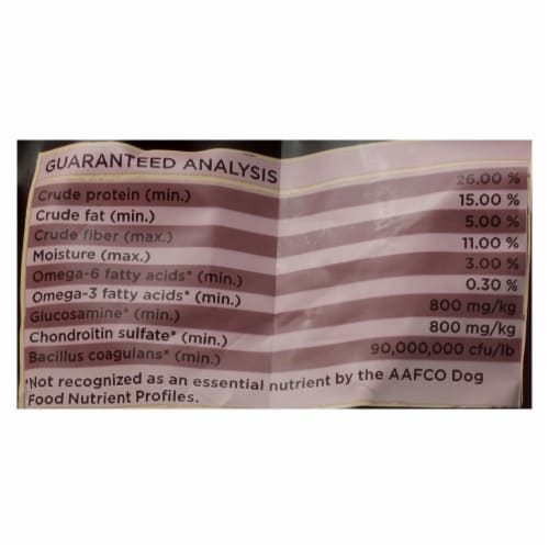Castor and Pollux Organix Grain Free Small Breed Dry Organic Dog Food Perspective: back