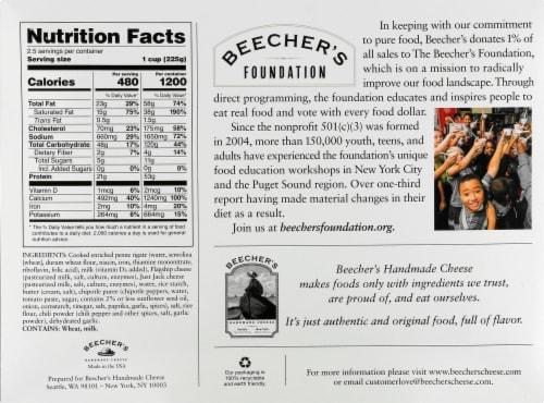 Beecher's World's Best Mac & Cheese Frozen Meal Perspective: back