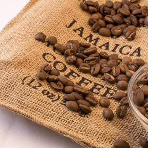 Premium Kaya Kopi Jamaican Blue Mountain Coffee  Arabica Grade 1 Roasted Ground Beans 12 Oz Perspective: back