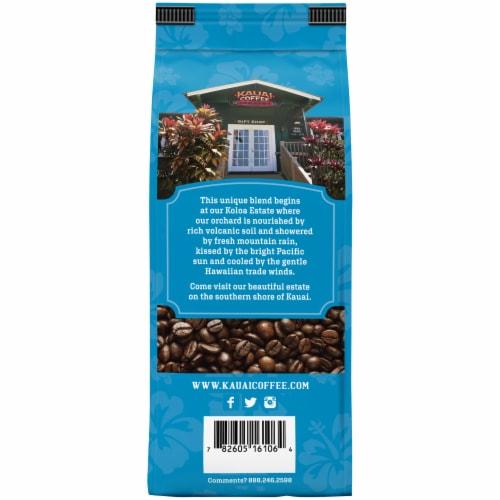 Kauai Coffee® Koloa Estate Medium Roast Ground Coffee Perspective: back