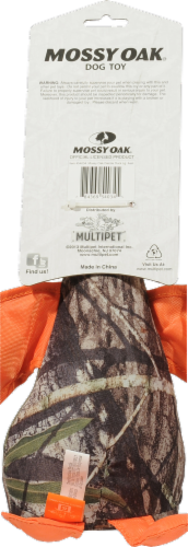 Multipet Mossy Oak Plush Duck Perspective: back