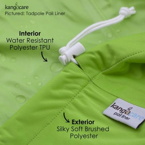 Kanga Care Reusable Diaper Pail  Liner | Sherbert Perspective: back