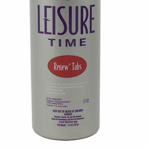 Leisure Time Renew Tabs Tablet Shock 1.75 lb. Perspective: back