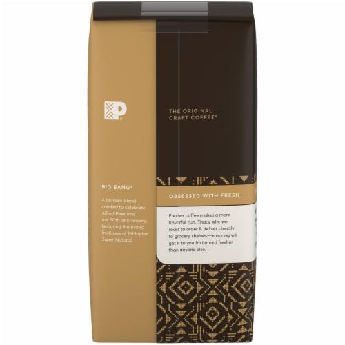 Peet's Coffee Big Bang Medium Roast Ground Coffee Perspective: back