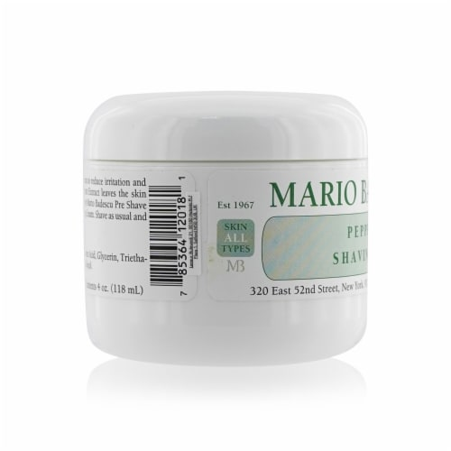 Mario Badescu Peppermint Shaving Cream 118ml/4oz Perspective: back