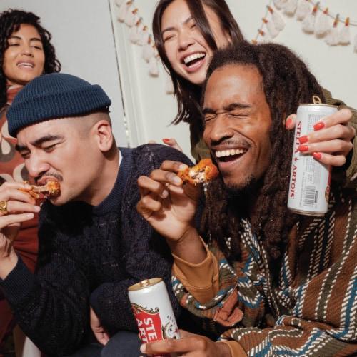 Stella Artois Belgium Lager Perspective: back