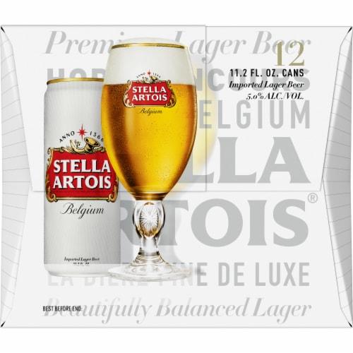 Stella Artois Lager Perspective: back