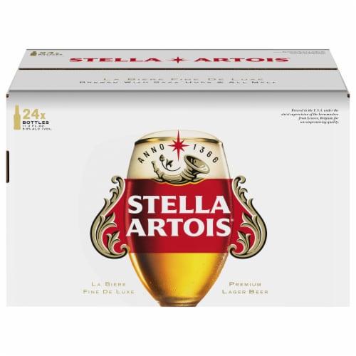 Stella Artois Premium Lager Beer Perspective: back