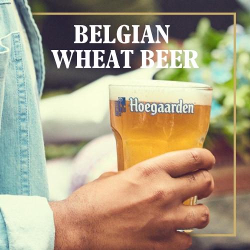 Hoegaarden The Original Belgian Wheat Beer Perspective: back