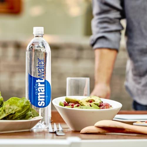 Smartwater Vapor Distilled Water Perspective: back
