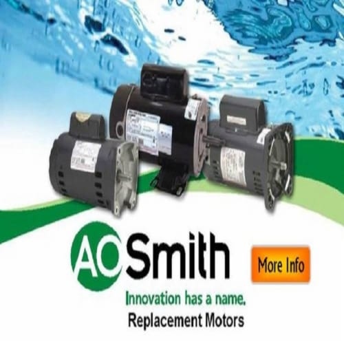 A.O. Smith Century B625 3/4HP 3450RPM 115/230V Booster Pump Motor (6 Pack) Perspective: back