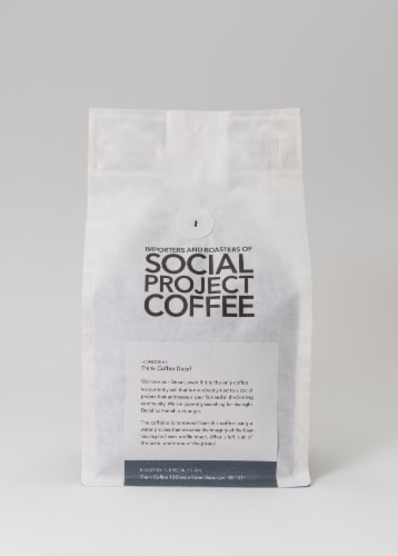 Decaf Honduras Whole Bean Coffee Perspective: back