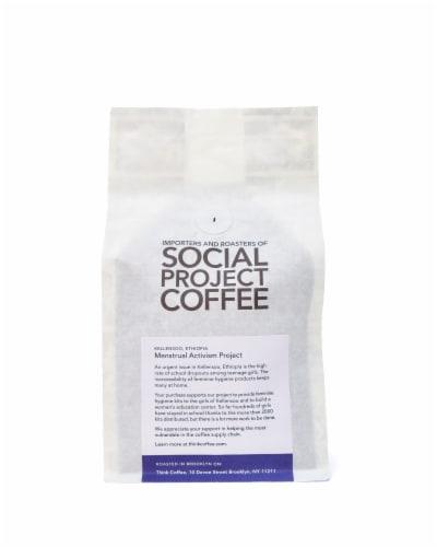 Ethiopia Kellensoo Single Origin Ground Coffee Perspective: back