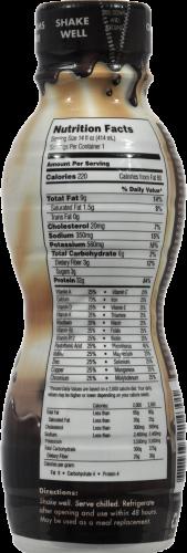 Oh Yeah! Chocolate Milkshake Nutritional Shake Perspective: back