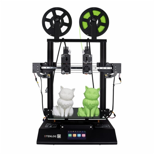Tenlog TMC2209 Driver TL-D3 Pro Dual Extruder 3D Printer with Duplicate Printing Perspective: back