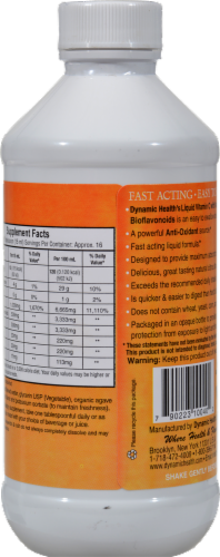 Dynamic Health Liquid Vitamin C 1000 mg Perspective: back