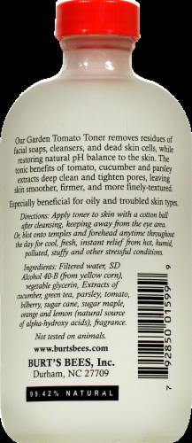 Burt's Bees Garden Tomato Toner Perspective: back
