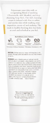 Burt's Bees Soap Bark & Chamomile Cleansing Cream Perspective: back
