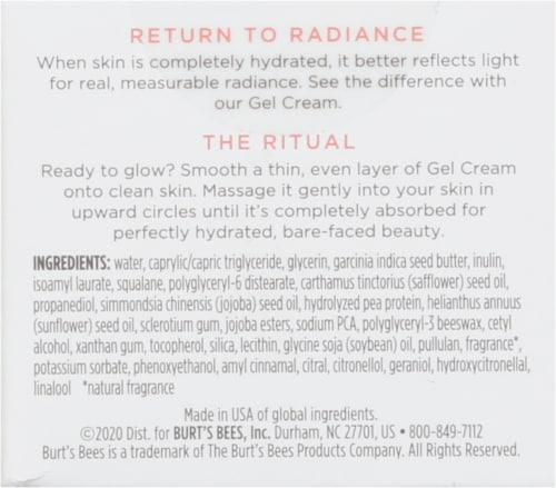 Burt's Bees® Truly Glowing™ Gel Cream Perspective: back
