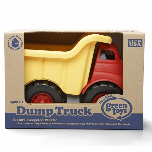Green Toys Recycled Plastic Dump Truck Perspective: back