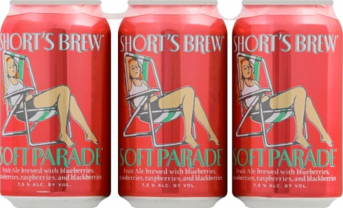 Short's Brewing Soft Parade Fruit Ale Perspective: back