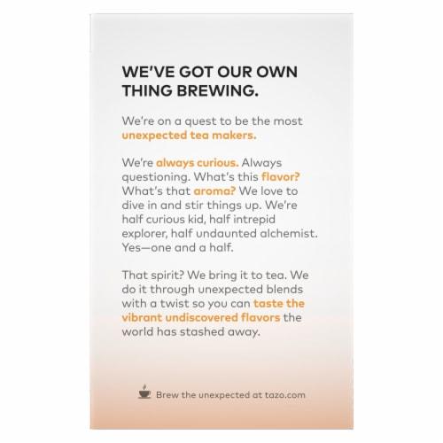 Tazo Organic Chai Black Tea Bags Perspective: back