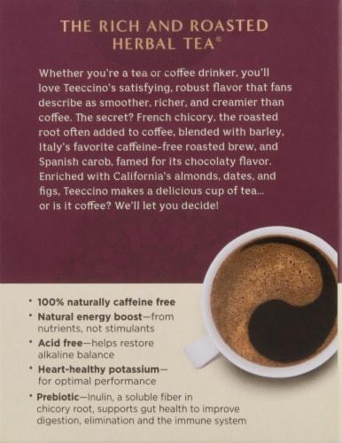 Teeccino® Hazelnut Herbal Tea Bags Perspective: back