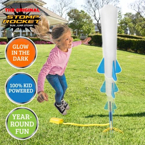The Original Stomp Rocket Jr. Glow Rocket Perspective: back