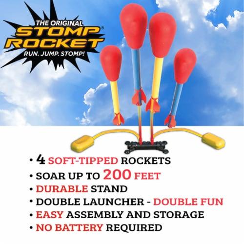 Stomp Rocket® Dueling Rockets Perspective: back