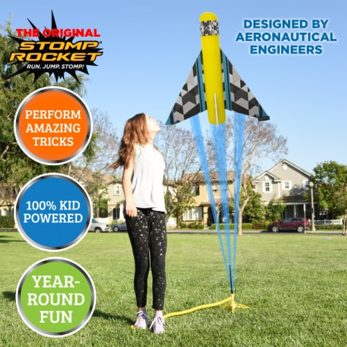 Stomp Rocket® Stunt Planes Perspective: back