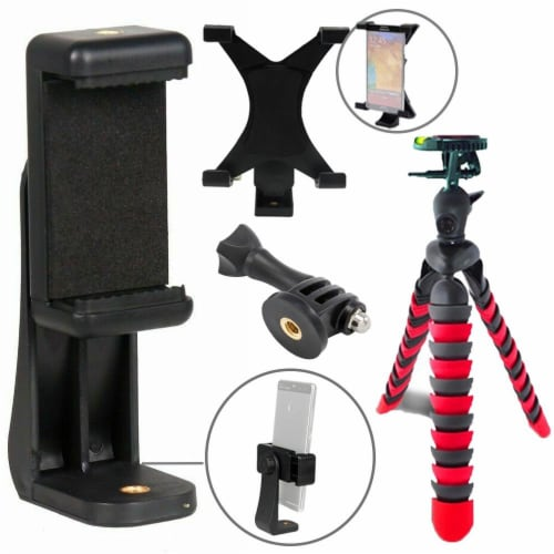 Spider Tripod+ Phone Holder+ipad Holder+gopro Mount Perspective: back