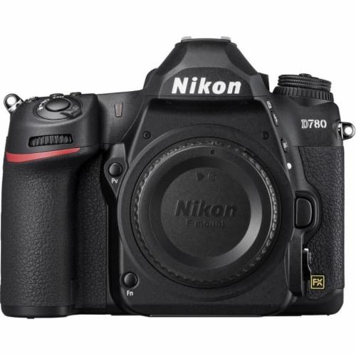 Nikon D780 24.5mp Fx-format Dslr Camera Body + Af-s 24-120mm Ed Vr Lens + Handy Recorder Perspective: back