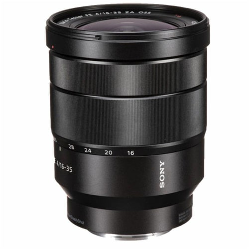 Sony Vario-tessar T* Fe 16-35mm F/4 Za Oss E-mount Lens + Essential Accessory Kit Perspective: back